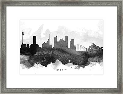 Sydney Cityscape 11 Framed Print by Aged Pixel