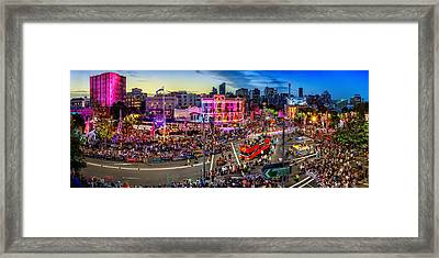 Sydney Gay And Lesbian Mardi Gras Parade Framed Print by Az Jackson