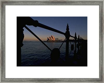Framed Print featuring the photograph Sydney Opera House by Travel Pics