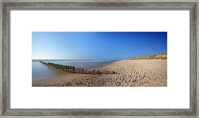 Sylt Beach Framed Print by Marc Huebner