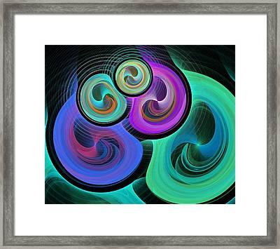 Synergy Framed Print by Anastasiya Malakhova