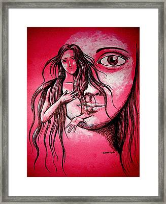 Synonym Of Love And Beauty Framed Print by Paulo Zerbato