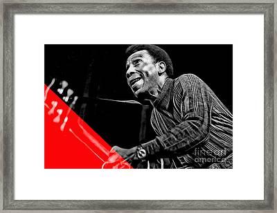 T Bone Walker Collection Framed Print by Marvin Blaine