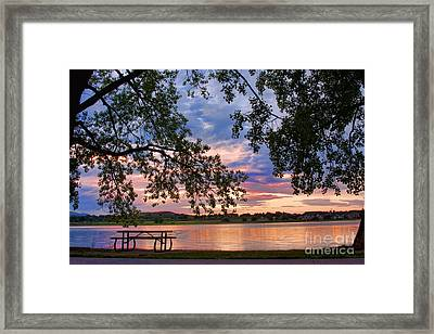 Table For Four With A View Framed Print by James BO  Insogna