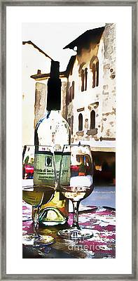 Table For Two Framed Print by Barb Pearson
