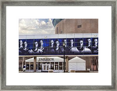 Tailgate Framed Print by Peter Chilelli