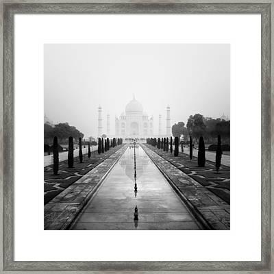 Taj Mahal IIi Framed Print by Nina Papiorek