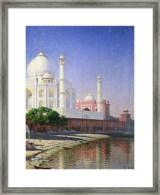 Taj Mahal Framed Print by Vasili Vasilievich Vereshchagin