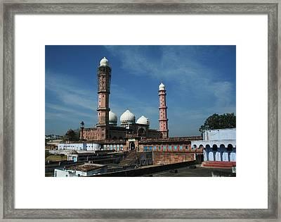 Tajul Masajid Framed Print by Mohammed Nasir
