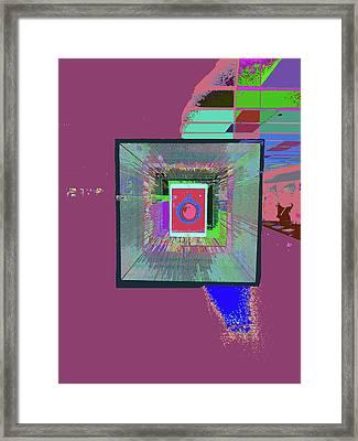 Take A Bite Framed Print by Kenneth James