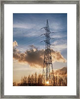Take A Break Framed Print by Wim Lanclus