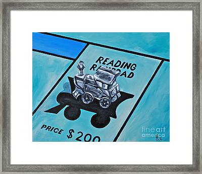 Take A Ride On The Reading  Framed Print by Herschel Fall