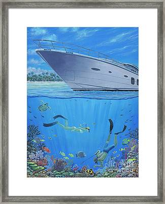 Take Back Our Reefs Framed Print by Danielle Perry