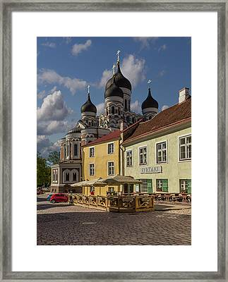 Take It All In Framed Print by Capt Gerry Hare