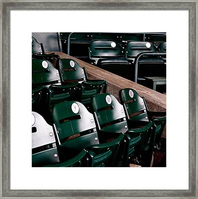 Take Me Out To The Ball Game Framed Print by Michelle Calkins