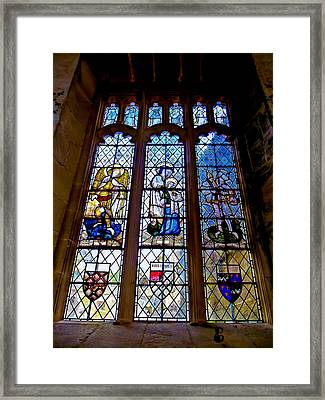 Take Me To Church Framed Print by Aaron Carberry