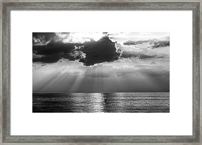 Take The Long Way Home Framed Print by Peter Chilelli