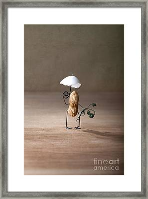 Taking A Walk 01 Framed Print by Nailia Schwarz