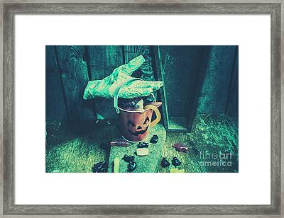 Taking Candy From The Little Monsters Framed Print by Jorgo Photography - Wall Art Gallery