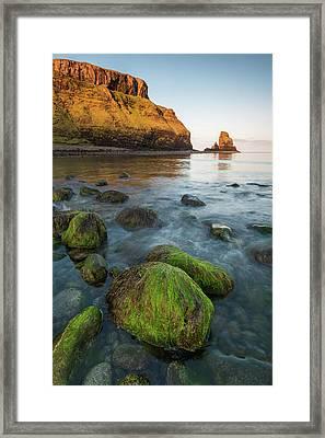 Talisker Beach Sunrise Framed Print by Davorin Mance