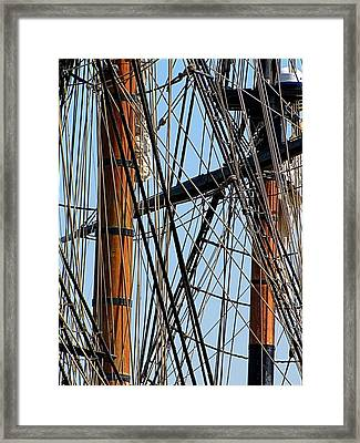 Tall Ship Series 11 Framed Print by Scott Hovind