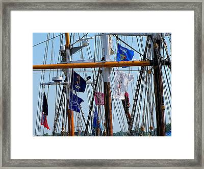 Tall Ship Series 15 Framed Print by Scott Hovind