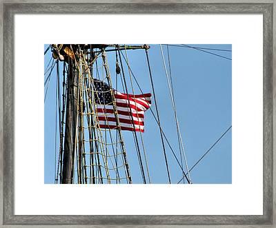 Tall Ship Series 3 Framed Print by Scott Hovind