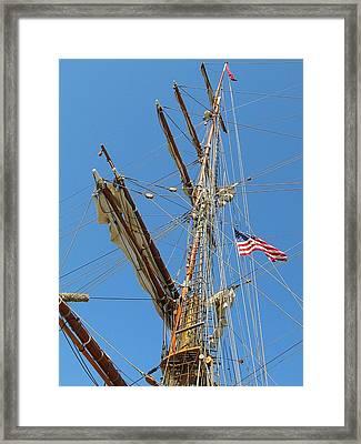 Tall Ship Series 8 Framed Print by Scott Hovind