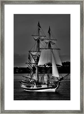 Tall Ships In Tacoma 2 Framed Print by David Patterson