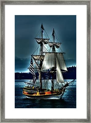 Tall Ships - Tacoma Washington Framed Print by David Patterson