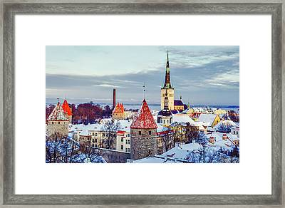 Tallin Estonia Framed Print by Liya Orehov