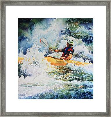 Taming Of The Chute Framed Print by Hanne Lore Koehler