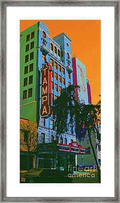 Tampa Theatre Framed Print by Jost Houk