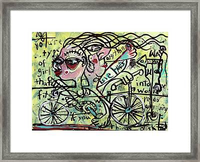 Tandem Framed Print by Robert Wolverton Jr