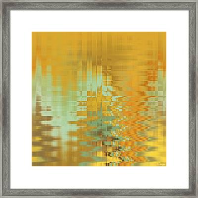 Tangerine Dream Framed Print by Raymond Vango
