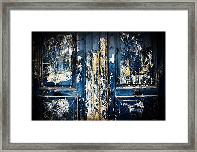 Tangled Up In Blue Framed Print by Cabral Stock
