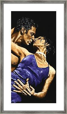 Tango Heat Framed Print by Richard Young