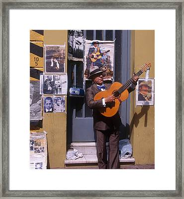 Tango Man  Argentina Framed Print by Dan Albright