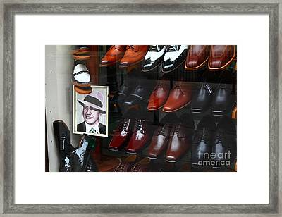 Tango Shoes For Carlos Gardel Framed Print by James Brunker