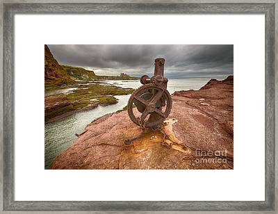 Tantallon Castle Views Framed Print by Nichola Denny