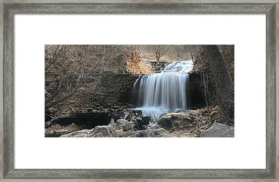 Tanyard Creek Arkansas Framed Print by Lourry Legarde