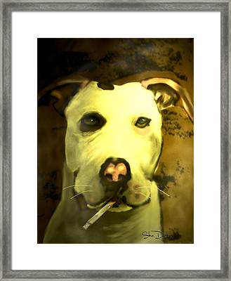 Tar Pit Framed Print by Stevn Dutton