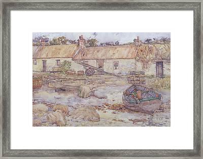 Tarbert   Loch Fyne Framed Print by Alexander Kellock Brown