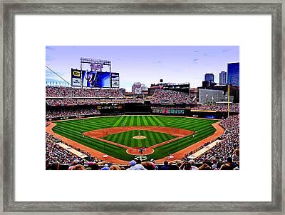 Target Field Framed Print by Lyle  Huisken