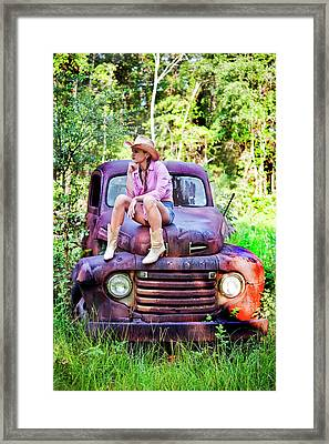 Tarin Day Dreaming Framed Print by Frank Feliciano
