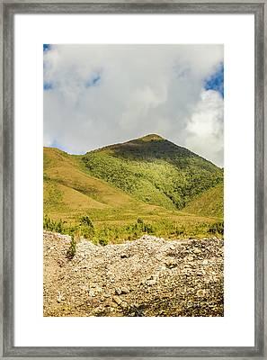 Tasmanian Mountains Framed Print by Jorgo Photography - Wall Art Gallery
