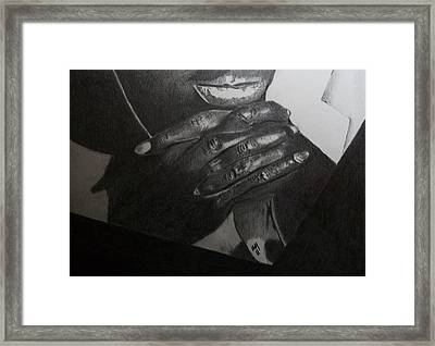Tatum Framed Print by Nick Young