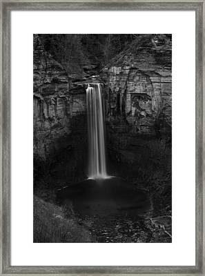 Taughannock Falls Late November Framed Print by Stephen Stookey