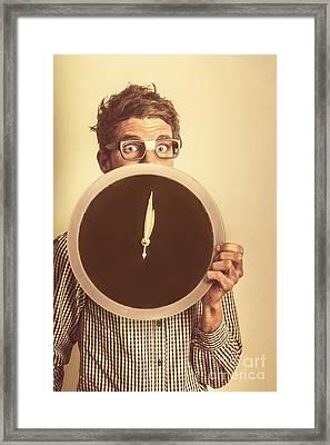 Tax Return Overdue Framed Print by Jorgo Photography - Wall Art Gallery