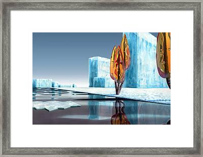 Taxus Glacialis Framed Print by Patricia Van Lubeck